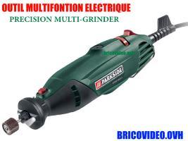 outil multifonction de précision 160w