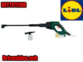 Nettoyeur haute pression 20V - Parkside