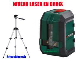 niveau laser en croix