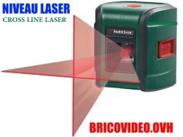 niveau laser en croix 7m