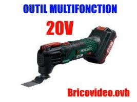 outil multifonction 20v