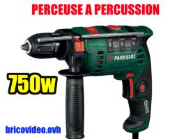 Perceuse à percussion 750w