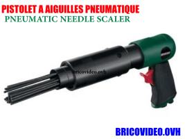 Pneumatic Needle Scaler