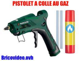 pistolet a colle au gaz