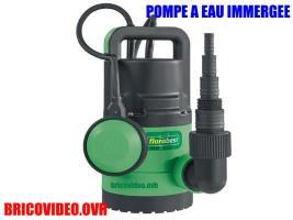 pompe à eau claire immergée 400w