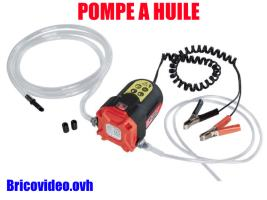 Pompe à huile 12v - Ultimate speed - 13,89 €