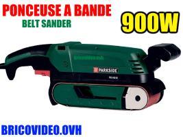 Ponceuse à bande 900w