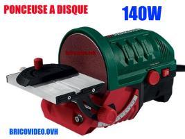 Ponceuse à disque 140w