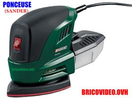 ponceuse triangulaire 160w