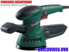 Ponceuse excentrique 270w