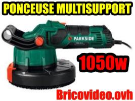 Ponceuse multisupport 1050w - Parkside - 59,99 €