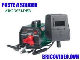 poste à souder à électrodes