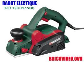 Rabot électrique 750W