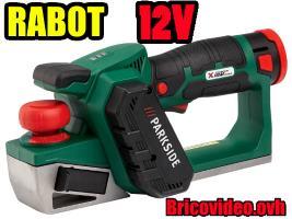 Rabot 12v - Parkside - 49,99 €