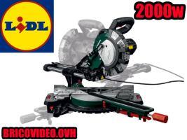 scie à onglet radiale 2000w 216mm - Parkside - 99 €