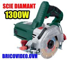 scie diamant 1300w