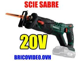 scie sabre 20v