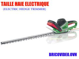 Taille haies 600w