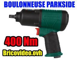 Clé à chocs pneumatique 400 nm