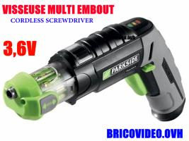 perceuse multi-embouts