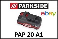 batterie parkside pap 20 a1 x20v team lidl 20v PSBSA 20-Li A1 PABH 20-Li B2 PABS 20-Li C3 PDSSA 20-Li A1 PHKSA 20-Li A1 PSTDA 20-Li A1 PSSA 20-Li A1 PWSA 20-Li A1 PAMFW 20-Li A1