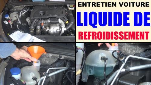 Entretien voiture : le liquide de refroidissement