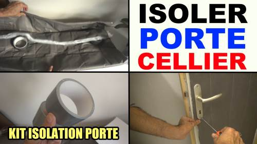 Isoler une porte de cellier de garage de service kit - Isoler sa porte de garage ...