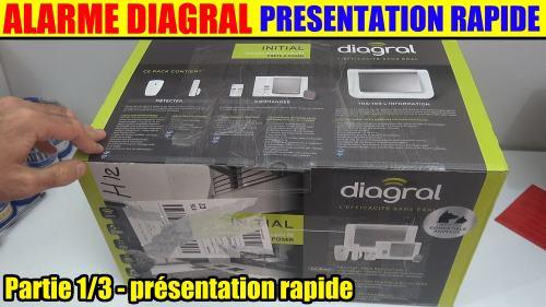 Alarme maison diagral one a2p gsm rtc nf sans fil twinband for Alarme maison diagral