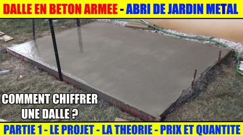 Comment Faire Un Coffrage Pour Dalle Beton Gallery Of Mise En Place