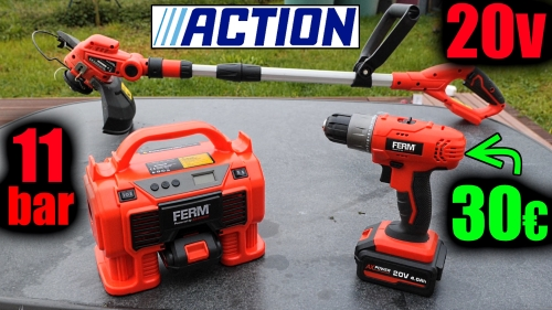 (fiche) outils ACTION FERM gamme AX-POWER