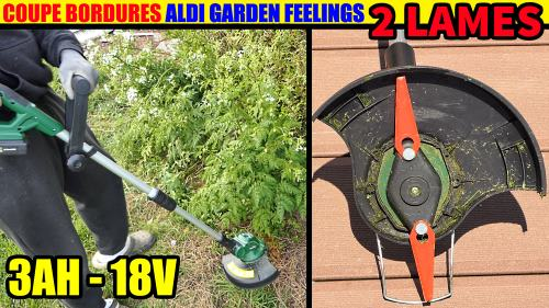 coupe bordures Aldi Garden Feeling
