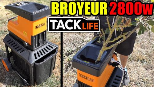 broyeur-de-vegetaux-tacklife-2800w-45mm-PWS01A-test-avis-notice