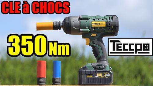 Clé à chocs TECCPO 350 Nm