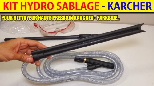 kit hydrosablage karcher