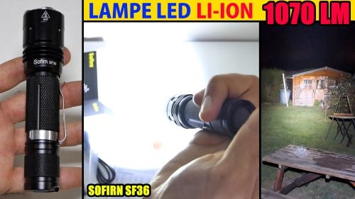 lampe-led-sofirn-sf36-amazon-li-ion-1070lm-200m-11200cd-pile-rechargeable-2800mah
