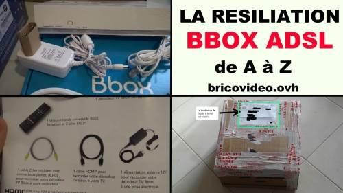 comment resilier bbox sensation procedure de resiliation