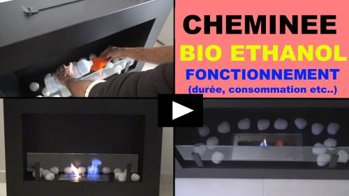 cheminee bio ethanol presentation fonctionnement temperature
