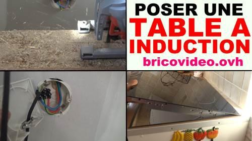 poser une table de cuisson induction vitroc ramique. Black Bedroom Furniture Sets. Home Design Ideas