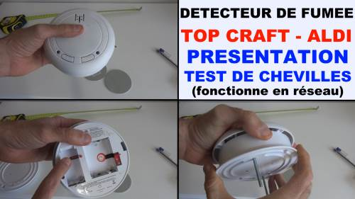 detecteur de fumee radio top craft aldi