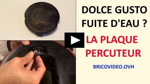 dolce gusto circolo piccolo melody reparer fuite d 39 eau plaque percuteur. Black Bedroom Furniture Sets. Home Design Ideas