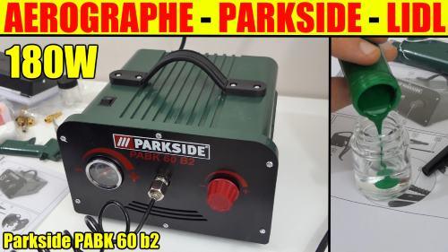 a rographe avec compresseur parkside lidl pabk 60 b2 pour peindre ou colorer n 39 importe quel. Black Bedroom Furniture Sets. Home Design Ideas