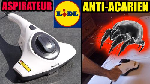 Aspirateur anti-acariens LIDL