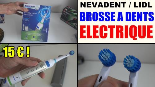 brosse dents lectrique lidl nevadent dazd 3 7 li a1test. Black Bedroom Furniture Sets. Home Design Ideas