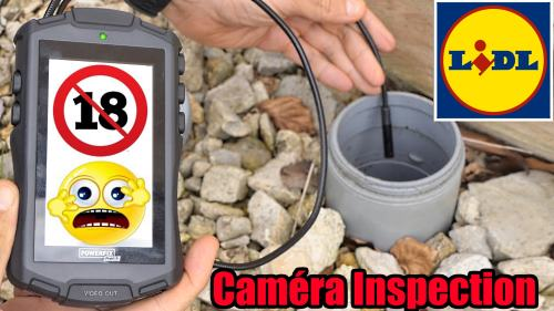 Camera d'inspection LIDL POWERFIX endoscopique