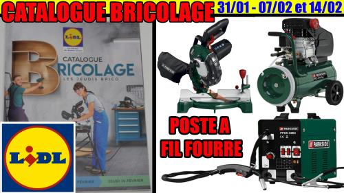 catalogue LIDL BRICOLAGE 2019