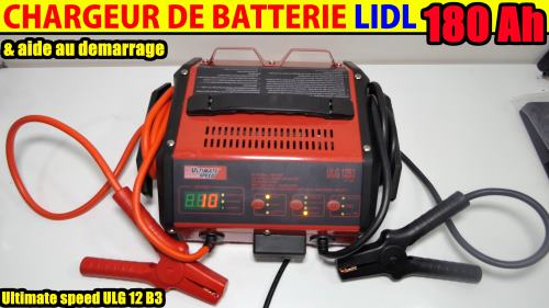 chargeur de batterie lidl ultimate speed voiture moto avec. Black Bedroom Furniture Sets. Home Design Ideas