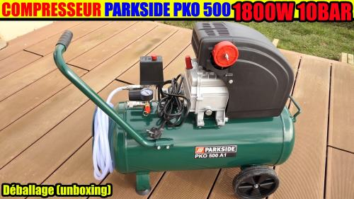 compresseur-parkside-pko-500-lidl-10bar-50l-1800w-test-avis-notice