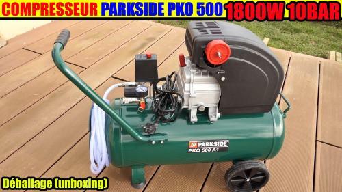 compresseur parkside PKO 500