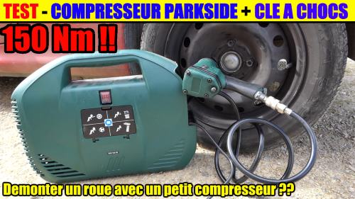 compresseur-parkside-pkz-180-cle-a-chocs-parkside-pdss-310-demonter-pneu-voiture