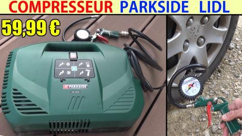 Compresseur parkside pkz 180